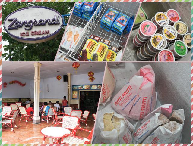Kedai Es Krim Zangrandi, Jalan Yos Sudarso, Surabaya