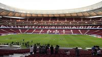 Wanda Metropolitano Stadium, markas Atletico Madrid yang jadi venue final Liga Champions 2018-2019. (AFP/Javier Soriano)