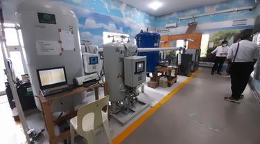 Ruang Pengisian Oksigen RSUD Wonosari