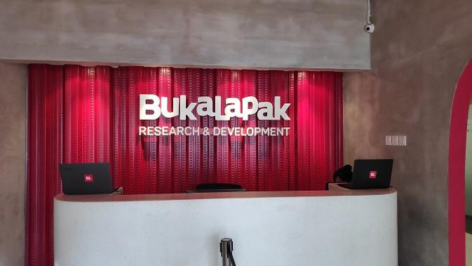 Pusat riset dan pengembangan Bukalapak di Bandung (liputan6.com/Agustinus M.Damar)