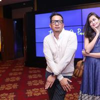Ringgo Agus Rahman dan Sabai Morscheck. (Nurwahyunan/Bintang.com)