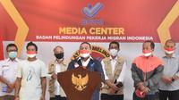 BP2MI menyelamatkan 4 Anak Buah kapal asal Indonesia yang menjadi korban eksploitasi di kapal ikan berbendera Italia. (Dok BP2MI)