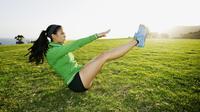 Olahraga dapat melancarkan aliran darah ke kulit. Sumber : parentsociety.com.