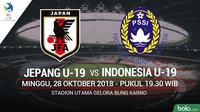 AFC U-19 Jepang U-19 Vs Indonesia U-19 (Bola.com/Adreanus Titus)