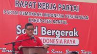 Sekjen PDIP Hasto Kristiyanto (Putu Merta/Liputan6.com)