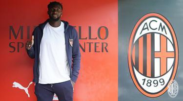 Gelandang AC Milan Tiemoue Bakayoko (Twitter AC Milan)