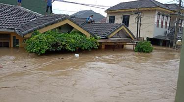 Banjir di Bogor, Rabu (1/1/2020)