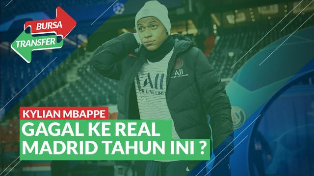 Berita Video bursa transfer karena virus corona, mega transfer Kylian Mbappe ke Real Madrid terancam gagal