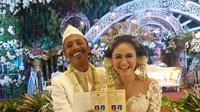 Mas Pur menikah dengan Dwinda Ratna. (instagram.com/ezayayang)