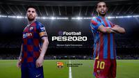 PES berubah namanya menjadi eFootball PES 2020.