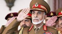 Sultan Oman, Qaboos yang meninggal dunia di usia 79 tahun. (AFP)