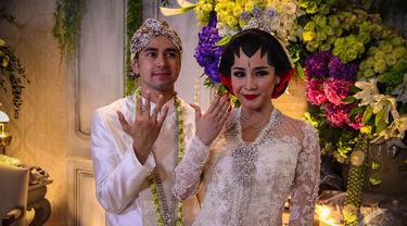 Raut Bahagia Raffi Ahmad-Nagita Slavina Pasca-Resmi Menikah