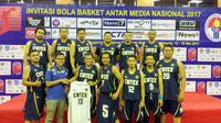 Tim Basket Emtek Jalin Kerjasama dengan Motion Sport Indonesia (Liputan6.com/Thomas)