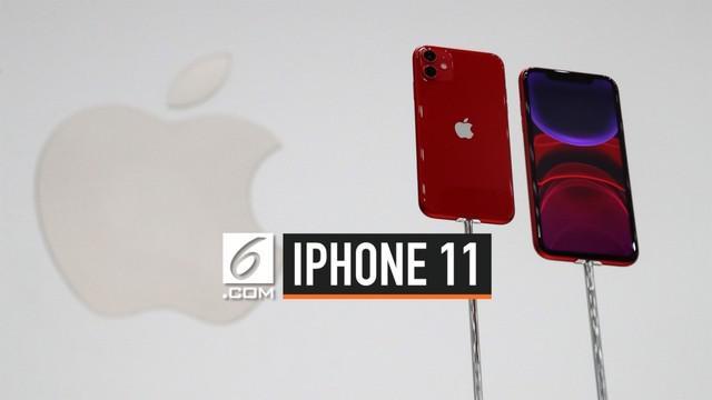 Apple secara resmi merilis trio iPhone11, yang terdiri dari iPhone 11, iPhone 11 Pro, dan iPhone 11 Pro Max. yuk kita lihat lebih dekat seperti apa wujud iPhone 11.