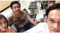 Kondisi Terbaru Pablo Benua, Rey Utami dan Galih Ginanjar (sumber: instagram/@farhatabbasofficial)