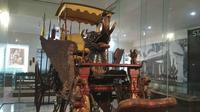 Teknologi yang ada di Kereta Singa Barong disebut-sebut menginspirasi mobil buatan eropa. Foto (Liputan6.com / Panji Prayitno)