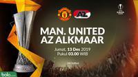 Liga Europa - Manchester United Vs AZ Alkmaar (Bola.com/Adreanus Titus)