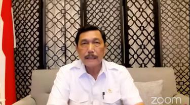 Menteri Koordinator Kemaritiman dan Investasi Luhut Binsar Pandjaitan.