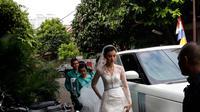 Kimberly Ryder menikah dengan Edward Akbar Minggu, 26 Agustus 2018