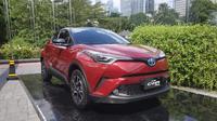 Begini Spesifikasi Toyota C-HR Hybrid di Indonesia (Arief A/Liputan6.com)
