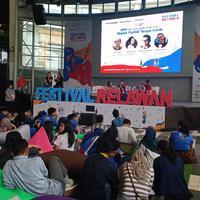 Festival Relawan 2018, ajang promosi dan pertemuan organinasi hingga komunitas yang wajib didatangi. (Fimela.com/Gadis Abdul)