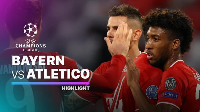 Berita Video Bayern munchen bungkam Atletico Madrid di matchday pertama Liga Champions