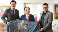 Menpora menerima kunjungan dari Korea Selatan.