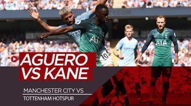 Berita video preview Manchester City vs Tottenham Hotspur pada pekan kedua Premier League 2019-2020. Dalam pertandingan tersebut akan hadir adu ketajaman antara Sergio Aguero dengan Harry Kane.