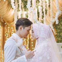 Anandito Dwi Sepdiawan dan Anisa Rahma. (Instagram/hijazpictura)