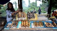 Ikan Asap Probolinggo (Liputan6.com / Dian Kurniawan)