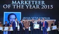 Bagaimana Presiden Direktur BCA,  Jahja Setiaatmadja bisa meraih penghargaan Marketeer Of The Year 2015? Berikut ulasannya.