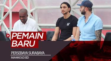 Berita video Persebaya Surabaya memperkenalkan pemain asing yang baru, Mahmoud Eid, pada Senin (6/1/2020).