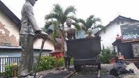 Lubang Tambang Mbah Soero Sawahlunto, Sumatera Barat. (Lipitan6.com/ Novia Harlina)