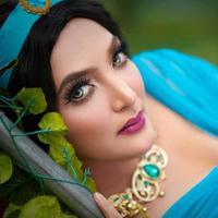 Penampilan Ashanty Berdandan ala Princess Disney (sumber: instagram/ashanty_ash)