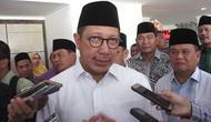 Menteri Agama Lukman Hakim Saifuddin di Gorontalo (Liputan6.com/ Aldiansyah Mochammad Fachrurrozy)