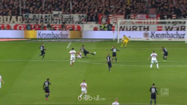 Berita video gol bunuh diri cantik tercipta pada laga Bundesliga 2017-2018, Stuttgart vs Hertha Berlin. This video presented by BallBall.