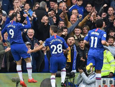 FOTO: Chelsea Lolos ke Liga Champions Setelah Tekuk Watford