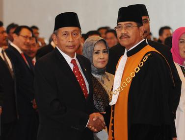 Ketua MA Pimpin Pengucapan Sumpah Jabatan Ketua dan Wakil Ketua BPK