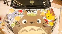 Kreasi Citra Marina untuk My Neighbor Totoro di World of Ghibli Jakarta. (The World of Ghibli Jakarta Team)