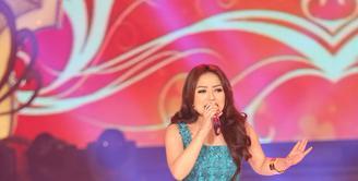 Penyanyi dangdut Siti Badriah, mempunyai beberapa kriteria untuk mendapatkan pendamping hidupnya di tahun ini. (Andy Masela/Bintang.com)