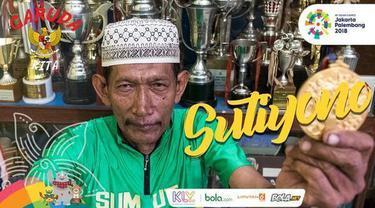 Sutiyono membawa nama Indonesia di pentas internasional dari balap sepeda.