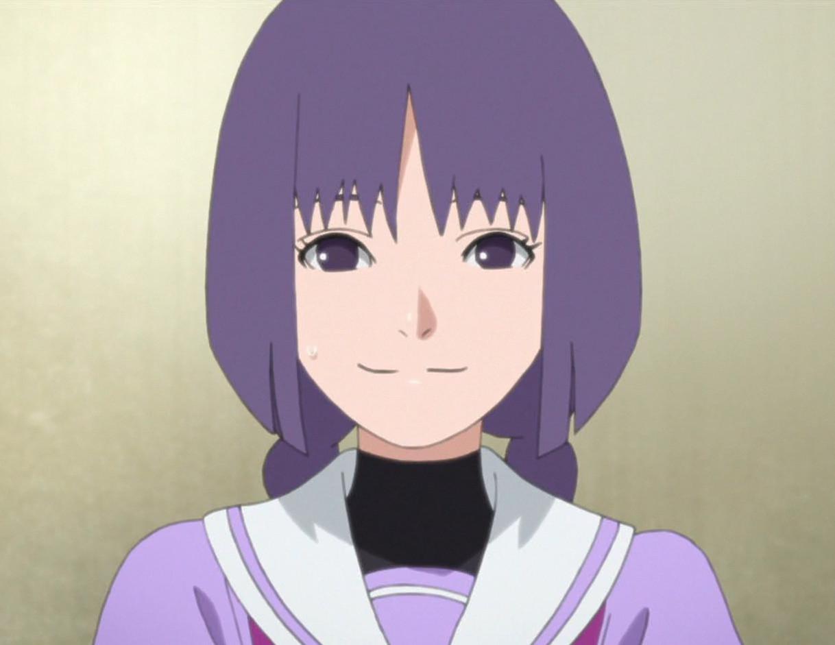 Karakter Sumire dari anime Boruto. (Pierrot)