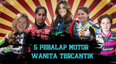Video lima pebalap motor wanita yang ada di moto2 dan moto3 tercantik di dunia tahun 2016, salah satunya Katja Poensgen pebalap wanita asal Jerman.