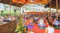 Bali Spirit Festival merupakan event tahunan. (Instagram @balispiritfest).