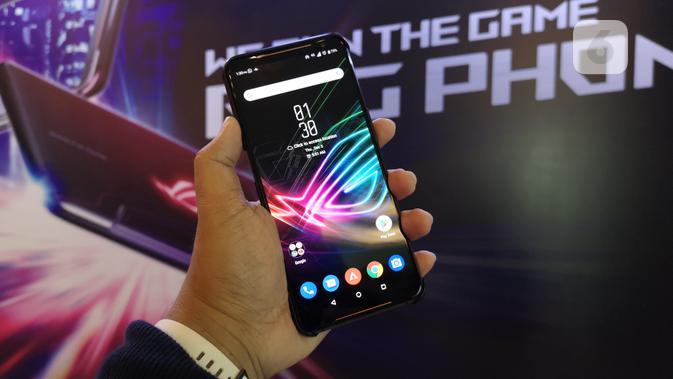Asus ROG Phone II. Liputan6.com/Agustinus Mario Damar