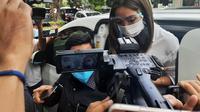 Gisel penuhi panggilan polisi terkait kasus dugaan video syurl. (Liputan6.com/Ady Anugrahadi)