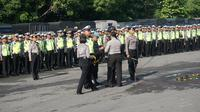 3 Ribu Polisi Dikerahkan Amankan Pernikahan Kahiyang-Bobby (Liputan6.com/Fajar Abrori)