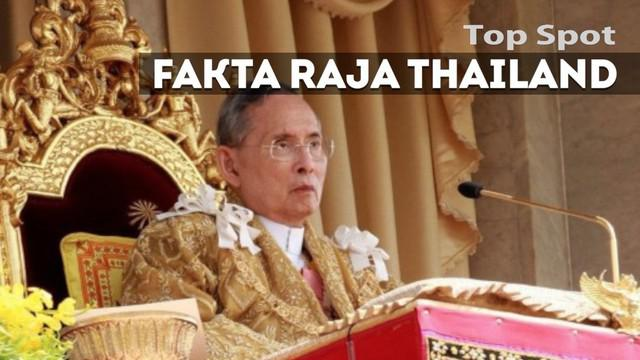 Kepergian Raja Bhumibol Adulyadej membawa kesedihan bagi warga Thailand dan meninggalkan fakta-fakta yang patut untuk disimak.