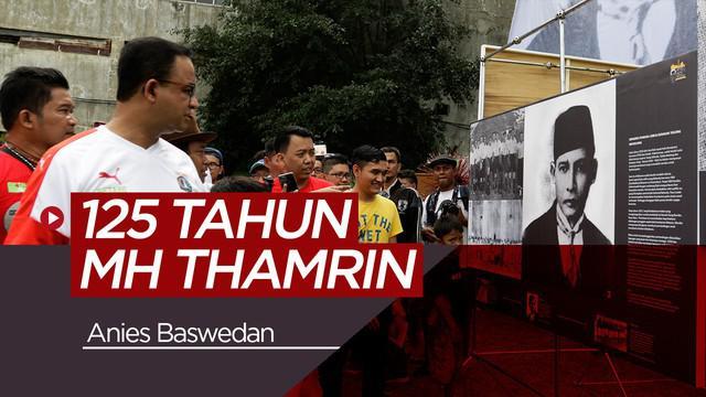 Berita video kegiatan Anies Baswedan yang menghadiri festival 125 tahun MH Thamrin di Stadion VIJ yang merupakan bekas markas Persija Jakarta.