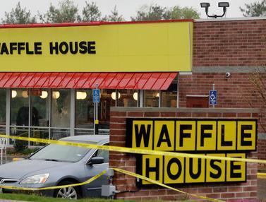Aksi Penembakan di Restoran Waffle House